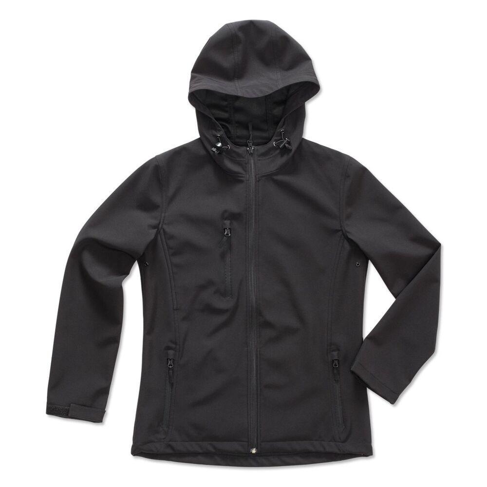 Stedman ST5340 - Active Softest Shell Hooded Jacket