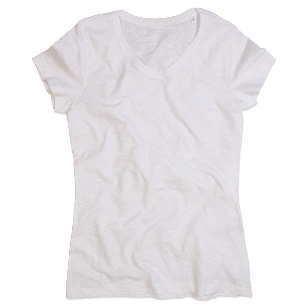 Stedman ST9510 - T-Shirt Sharon Slub V Neck