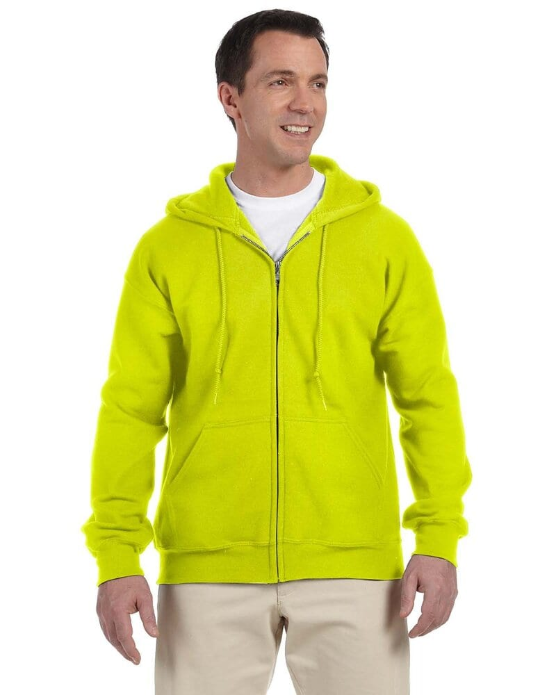 Gildan G126 - DryBlend® Adult  15 oz./lin. yd., 50/50  Full-Zip Hood