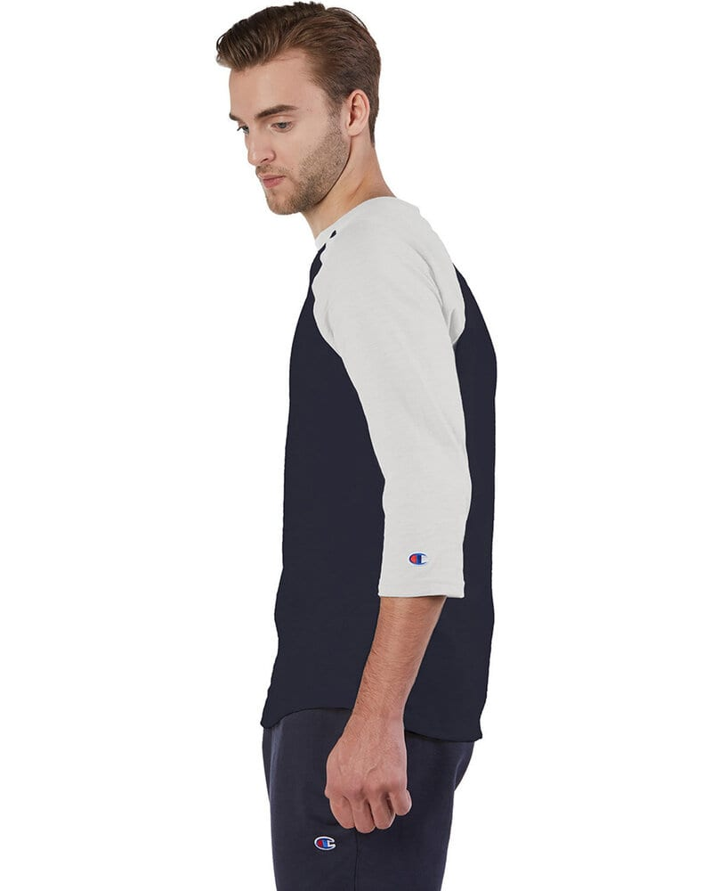 Champion CP75 - Adult Ringspun Slub Baseball T-Shirt
