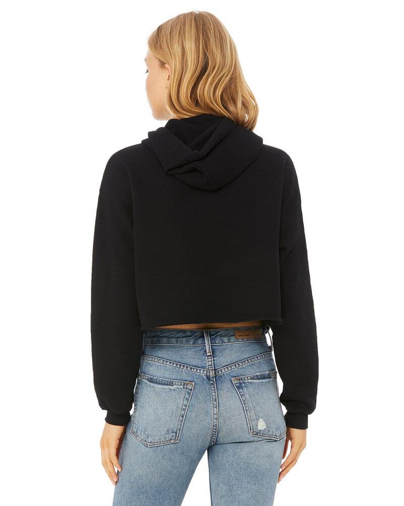 Bella+Canvas B7502 - Ladies Cropped Fleece Hoodie