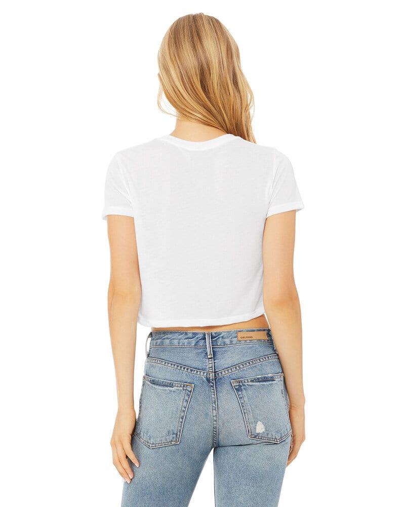 Bella+Canvas B8882 - Ladies Flowy Cropped T-Shirt