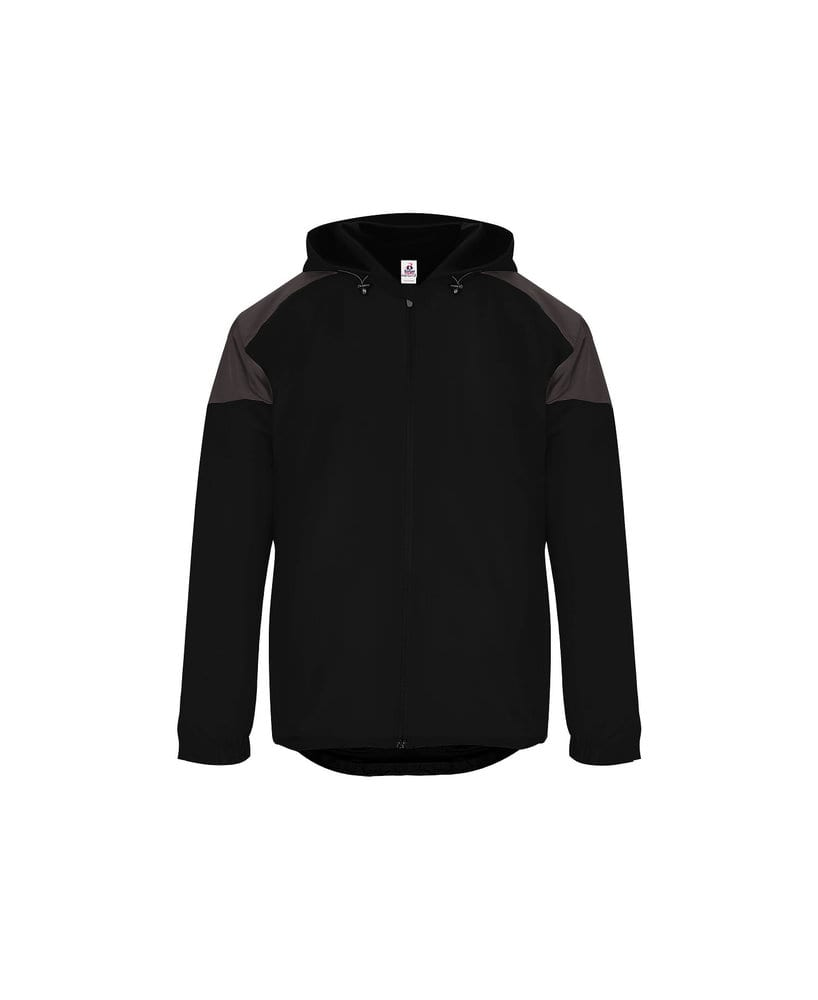 Badger BG7643 - Adult Rival Hooded Jacket