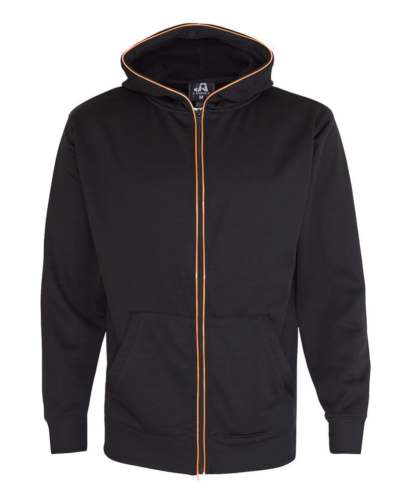 J. America JA8668 - Adult Glow Full Zip Hood