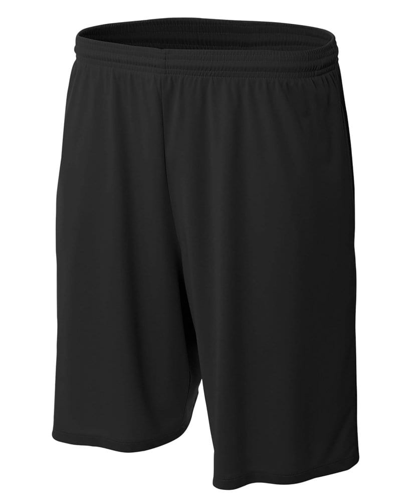 """A4 A4N5338 - Adult 9"""" Cooling Performance with Side Pockets Short"""