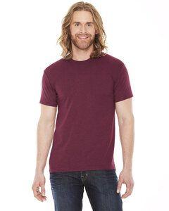 American Apparel AABB401W - Remera de cuello redondo unisex de poliéster/algodón