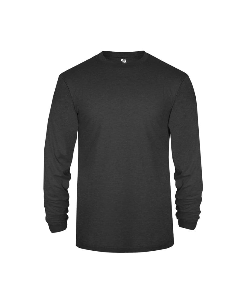 Badger BG4944 - Adult Tri-Blend Long Sleeve Performance Tee