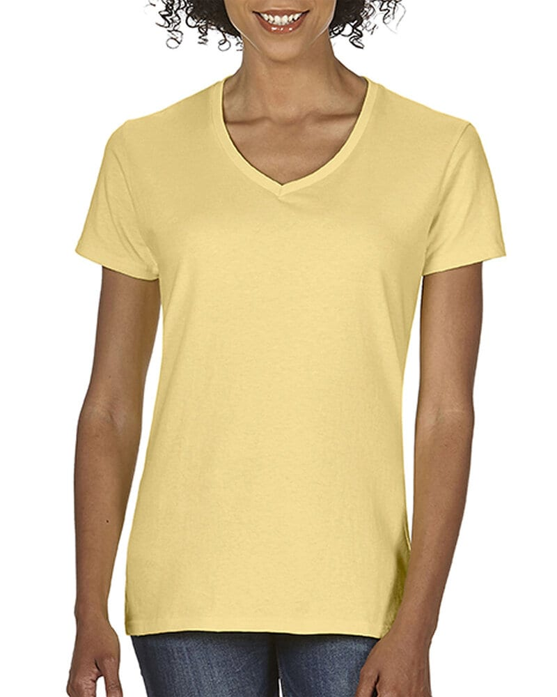 Comfort Colors CC3199 - Ladies' Midweight Ring Spun V-Neck Tee