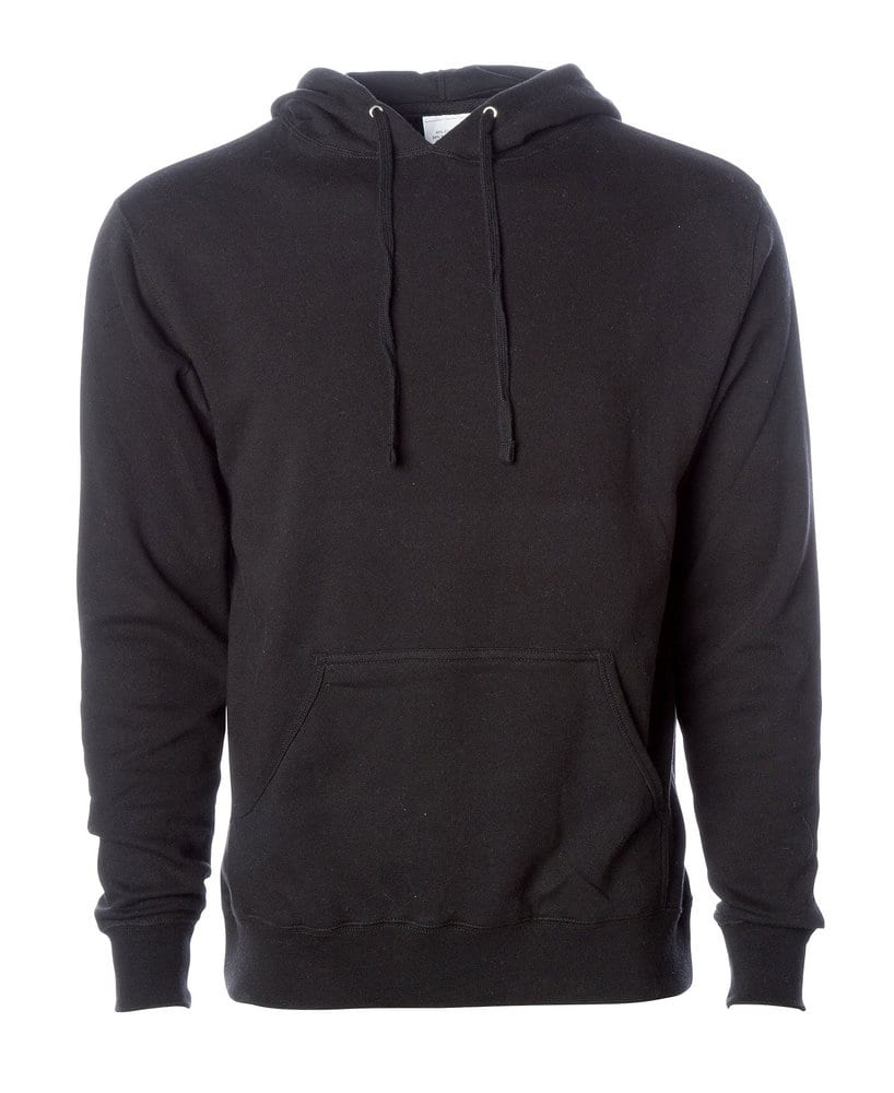Independent Trading Co. AFX400 - Adult Lightweight Fitted Pullover Hooded Fleece