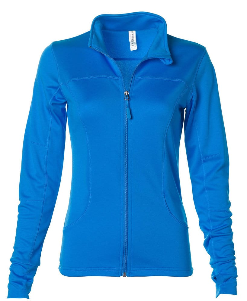 Independent Trading Co. EXP60PAZ - Buzo Lightweight con cierre  para mujer