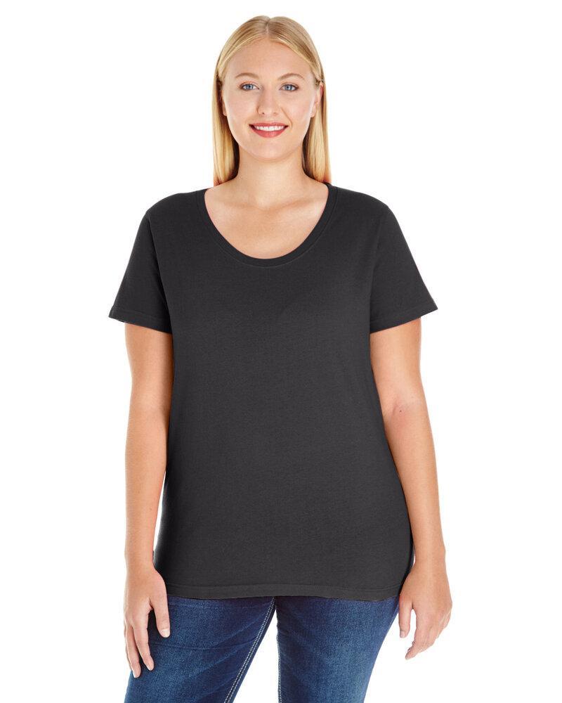 LAT LA3804 - Ladies' Curvy Jersey Tee
