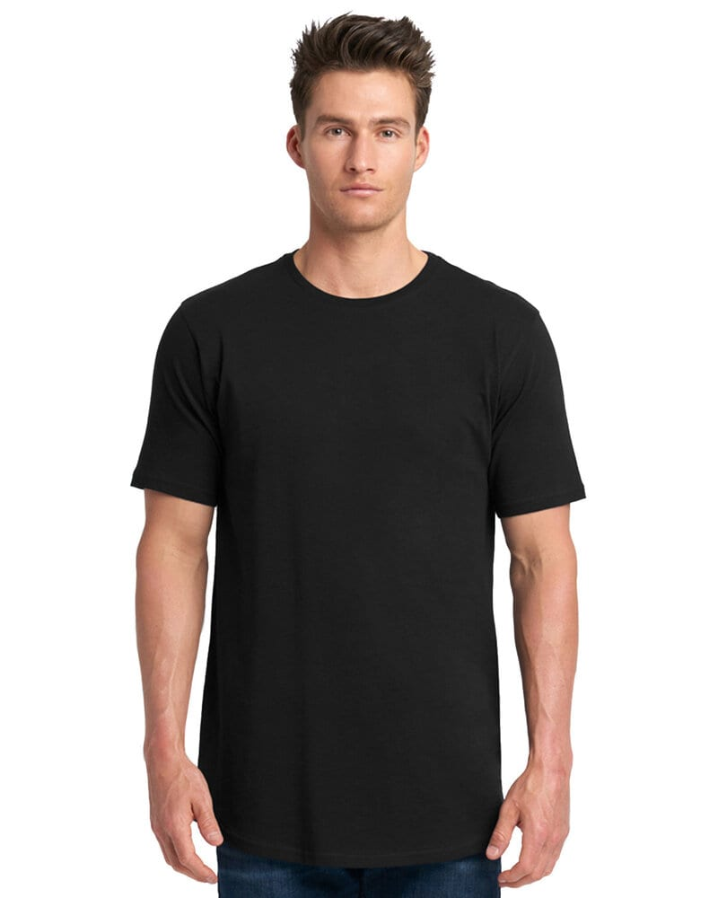 Next Level NL3602 - Men's Cotton Long Body Crew Tee