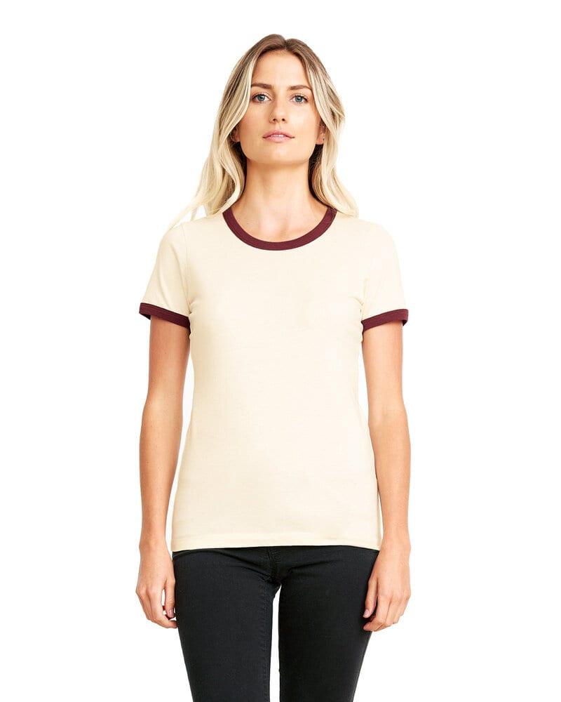 Next Level NL3904 - Remera de algodón de cuello redondo