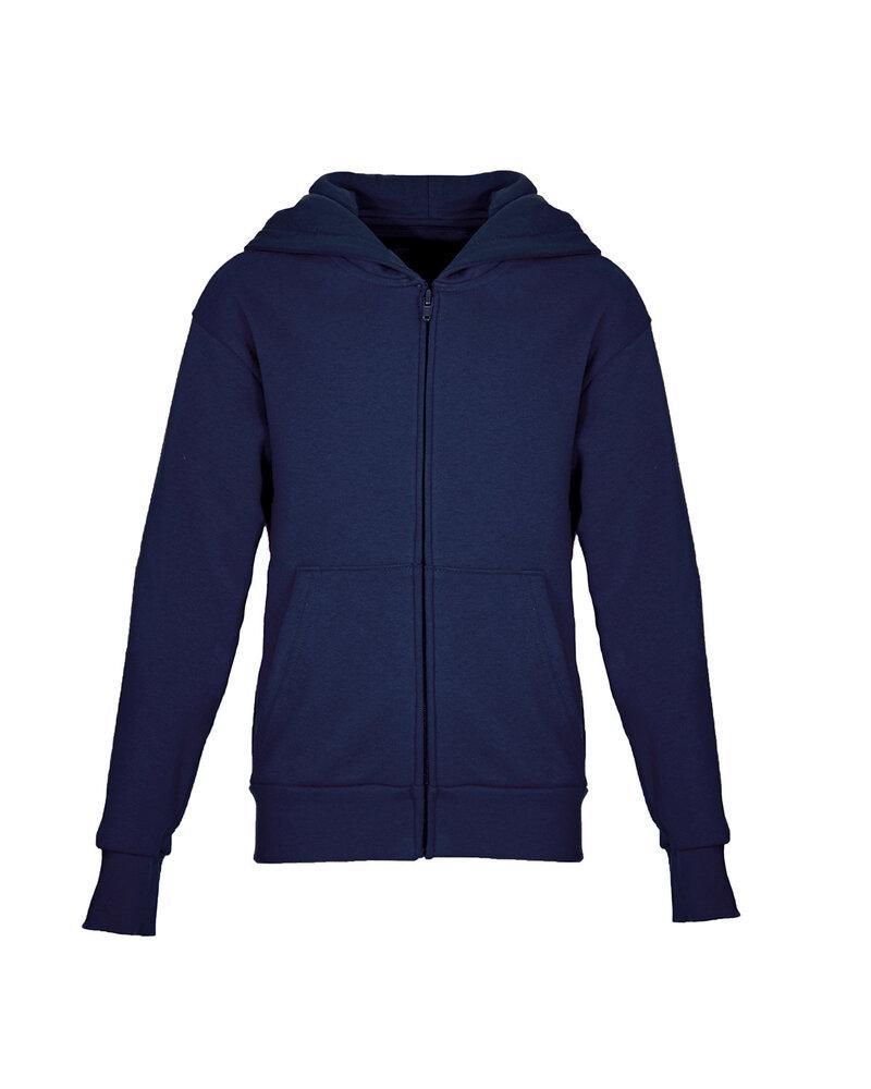 Next Level NL9103 - Buzo con capucha polar con cierre para jóvenes