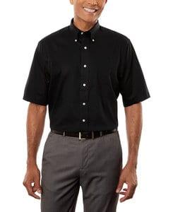 VanHeusen 13V532 - Mens Twill Short Sleeve Dress Shirt