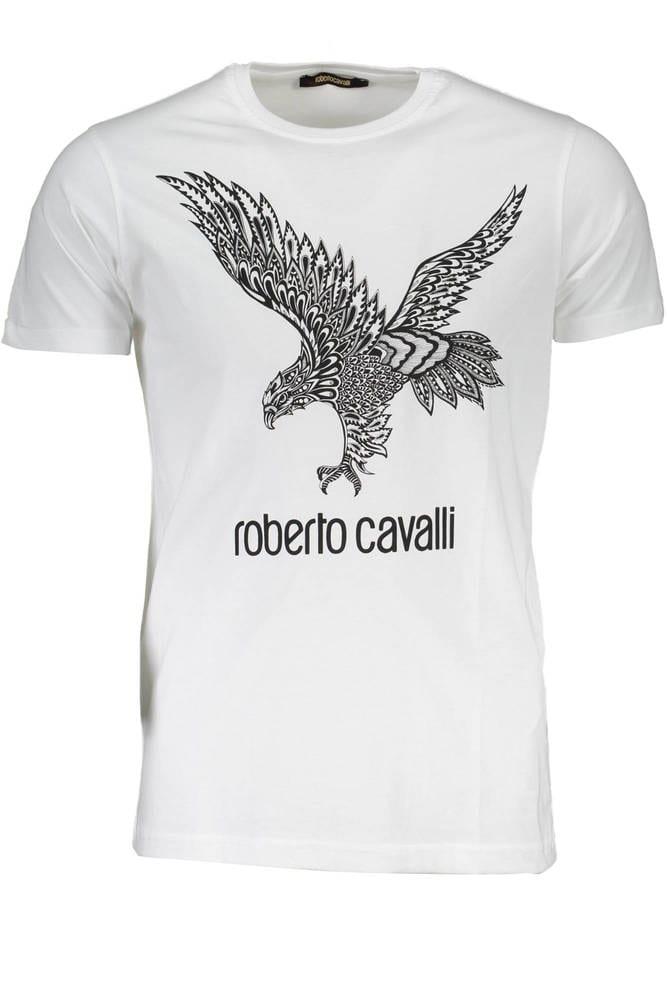 ROBERTO CAVALLI FST648 - Tricot avec les manches courtes  Homme