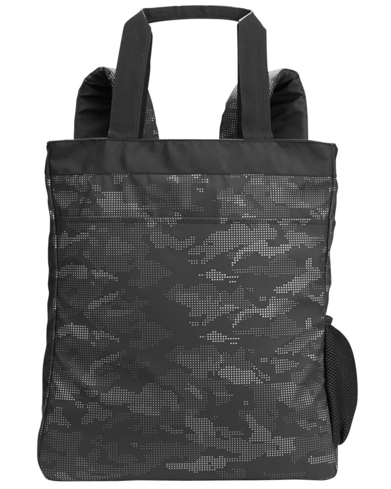 North End NE901 - Reflective Convertible Backpack Tote
