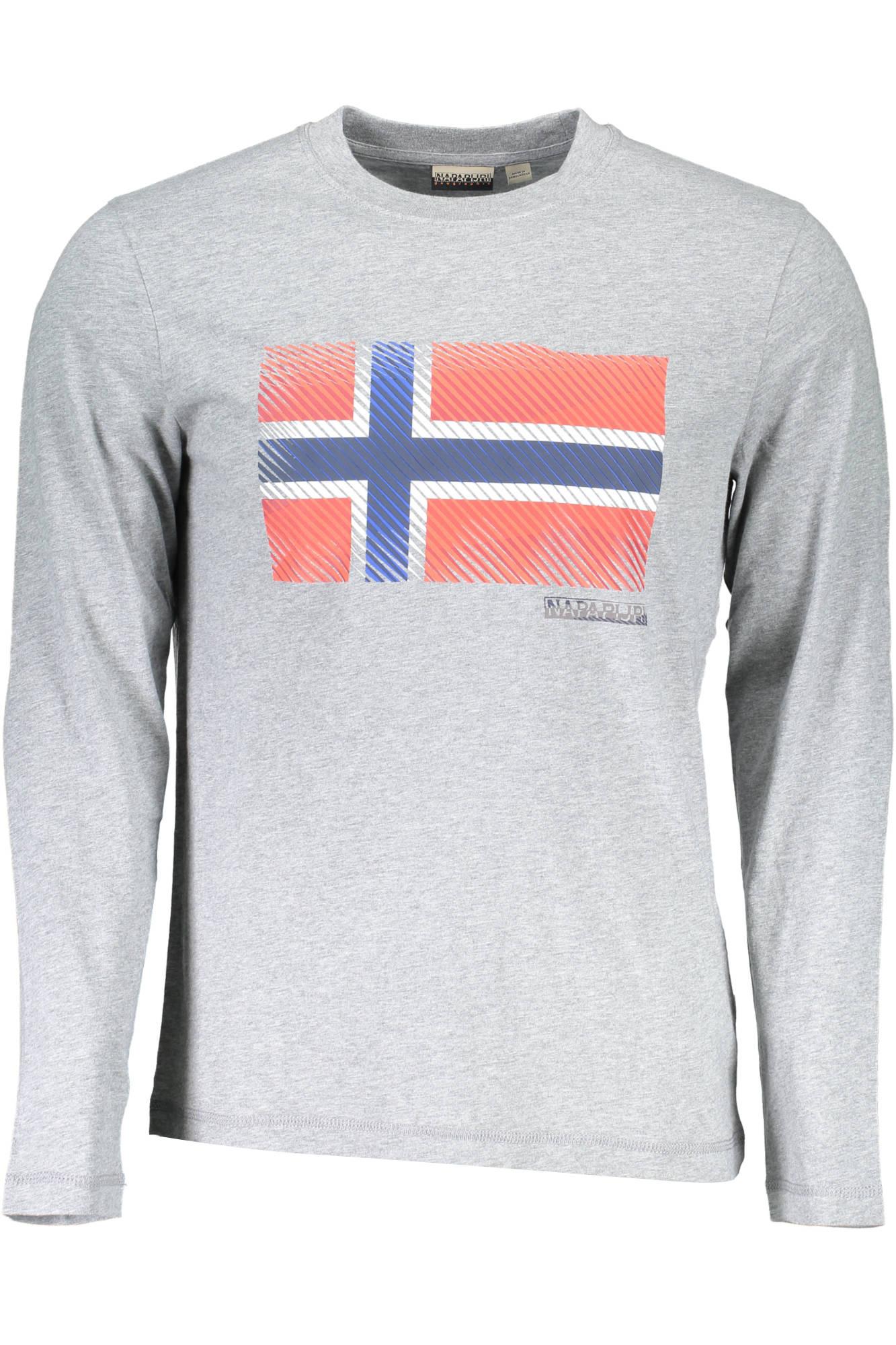 Napapijri N0YIX1 SIBU LS T Shirt mit langen Ärmeln Mann