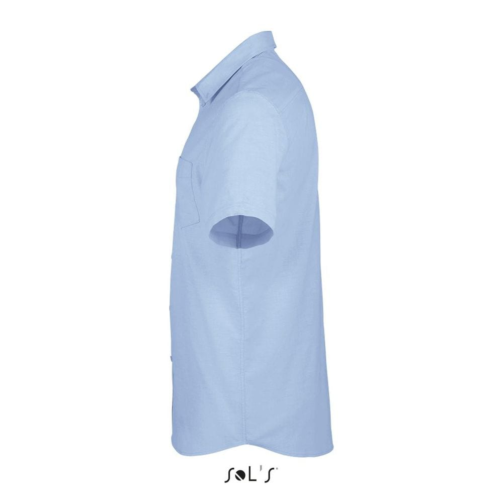 Sol's 02921 - Short Sleeve Oxford Men's Shirt Brisbane Fit