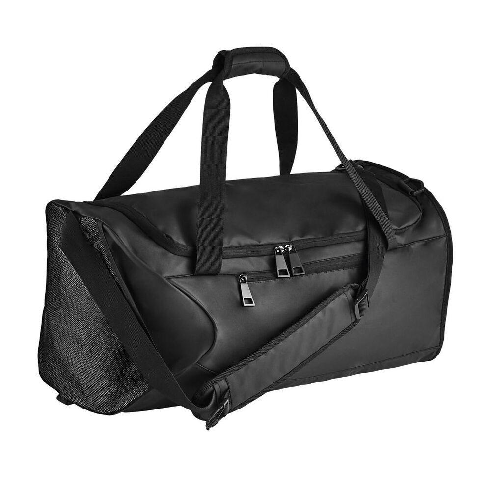 Sol's 02926 - Coated Canvas Sports Bag Chrome