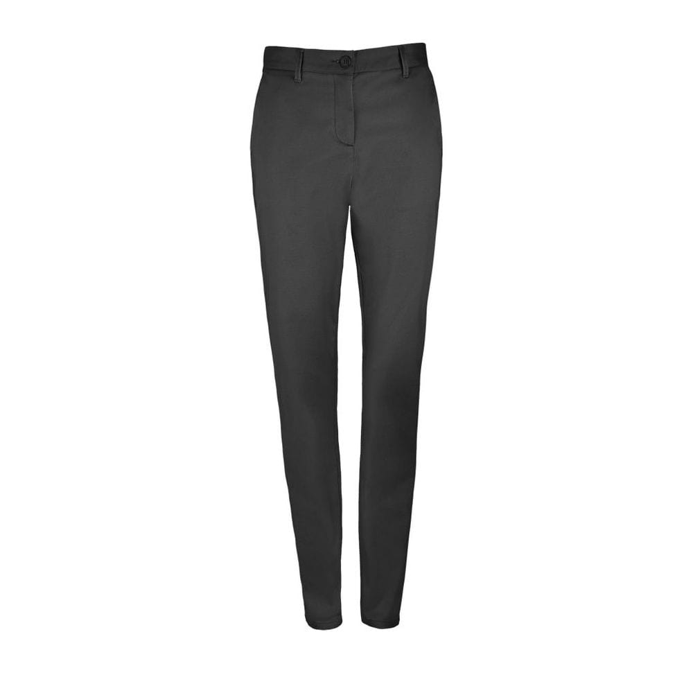 Sol's 02918 - Women'S Satin Stretch Trousers Jared