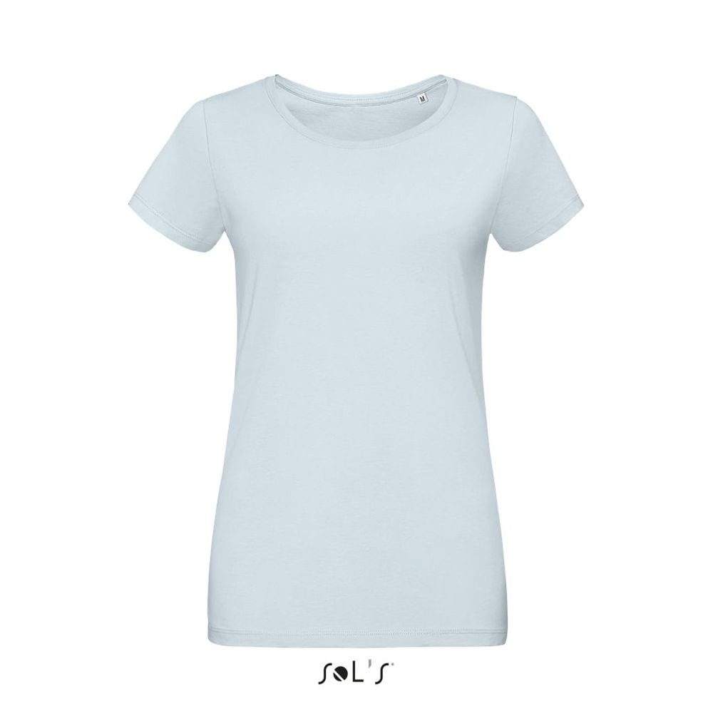 Sol's 02856 - Women's Round Neck Fitted Jersey T Shirt Martin