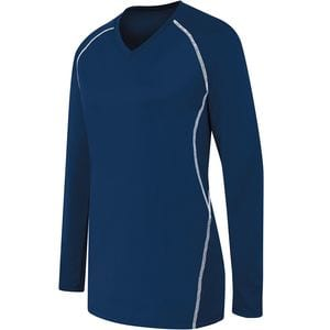 HighFive 342162 - Ladies Long Sleeve Solid Jersey