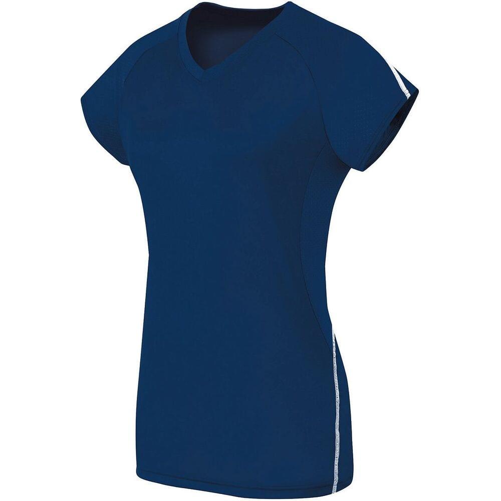 HighFive 342173 - Girls Short Sleeve Solid Jersey