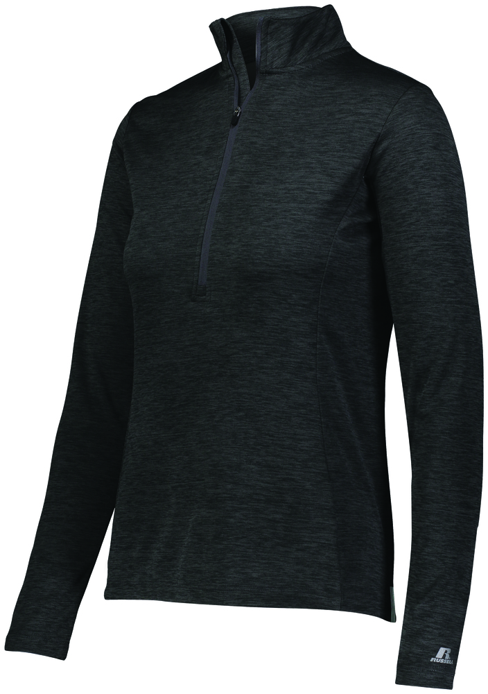 Russell QZ7EAX - Ladies Dri Power Lightweight 1/4 Zip Pullover
