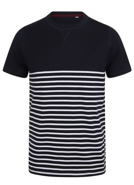 FRONT ROW FR135 - Tee-shirt marinière