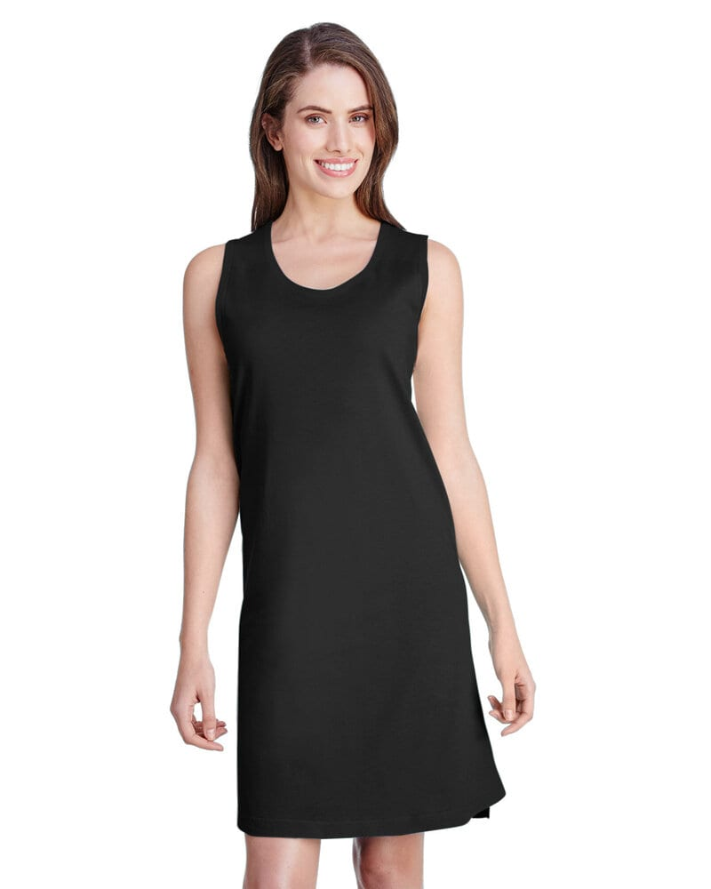 LAT LA3523 - LAT Ladies' Racerback Fine Jersey Tank Dress