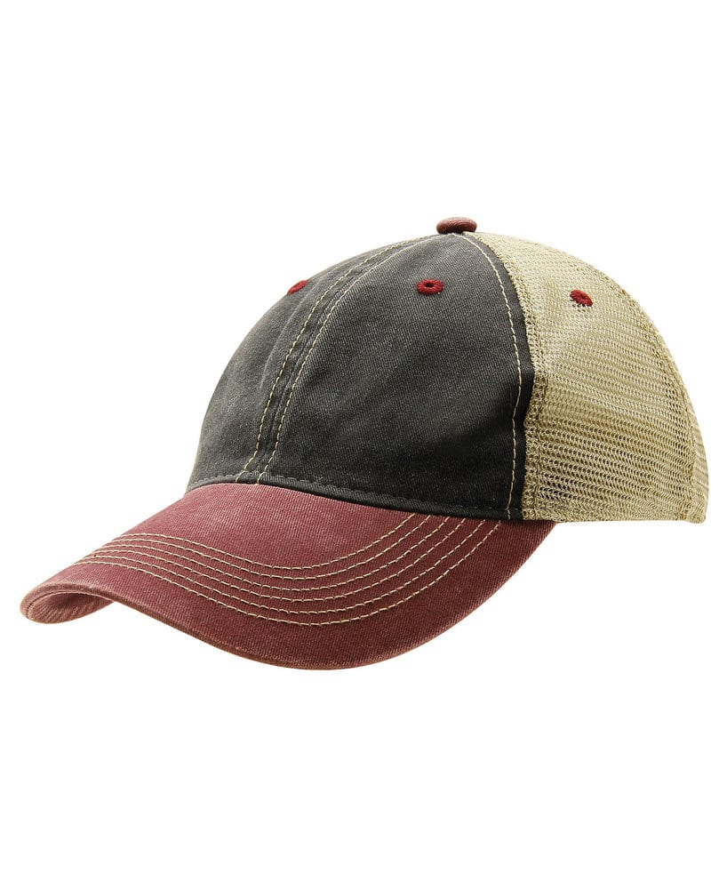 Ouray Sportswear Heather Performance Mesh Back Cap