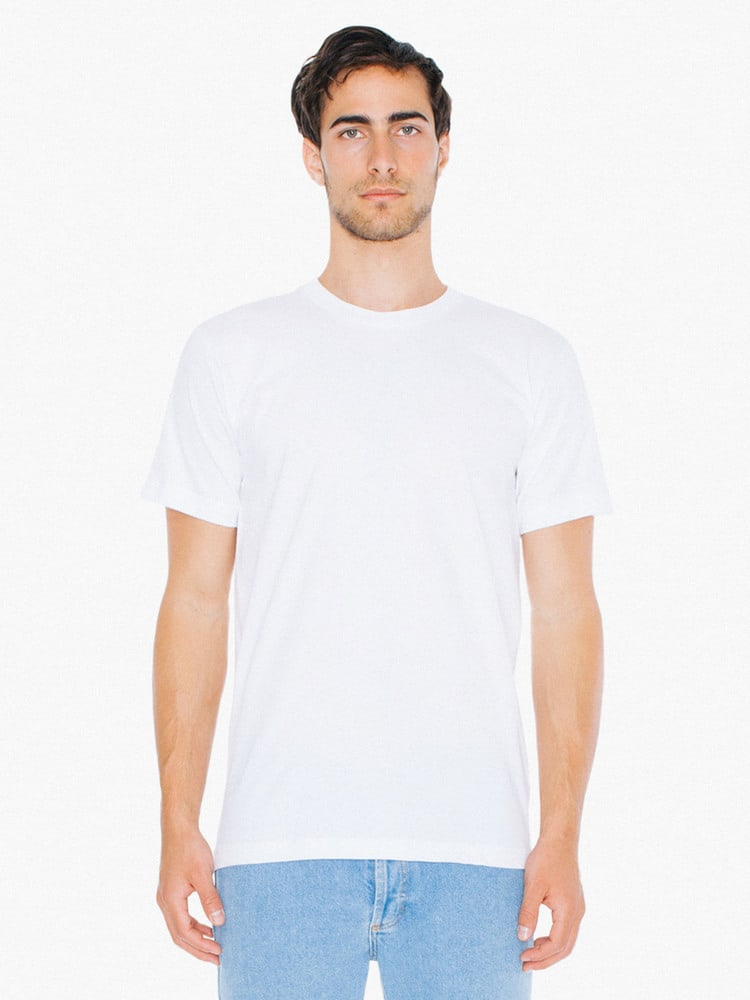 American Apparel AM2001 - T-shirt Col Rond Manches Courtes Homme