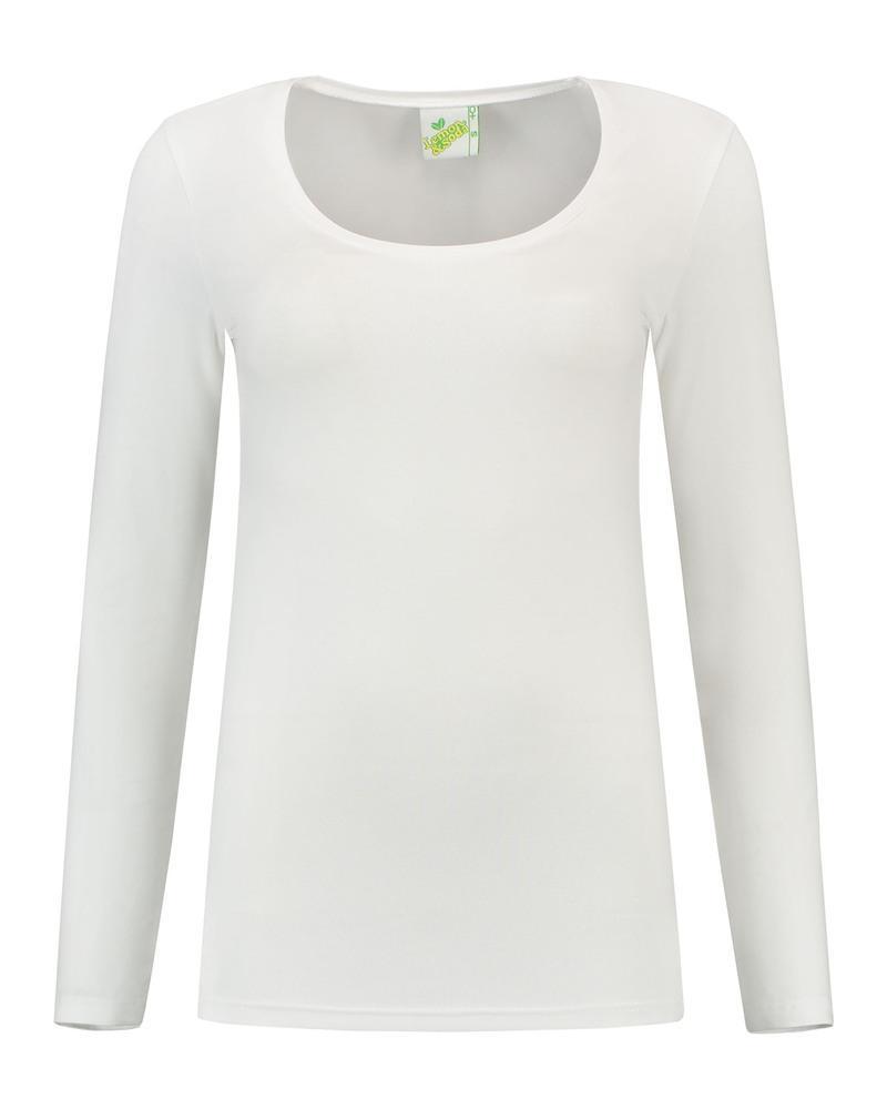 Lemon & Soda LEM1267 - T-shirt Crewneck cot/elast LS for her