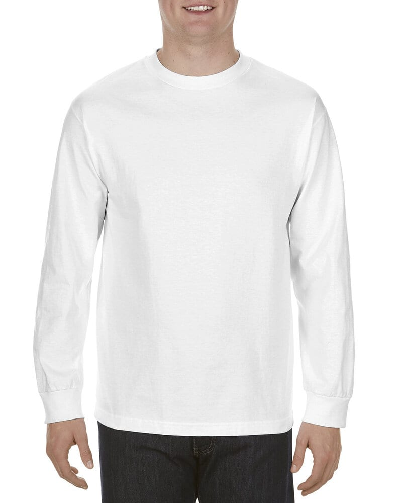 Alstyle AL1904 - Adult 5.1 oz., 100% Soft Spun Cotton Long-Sleeve T-Shirt