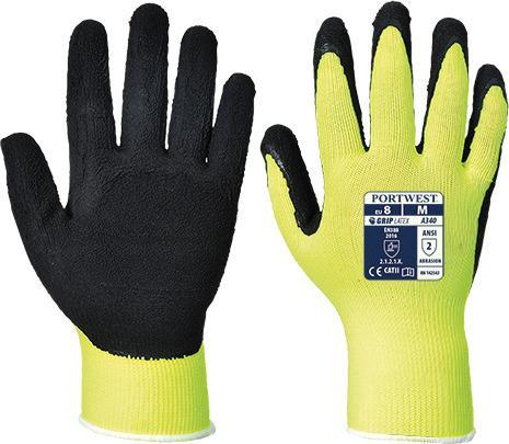 Portwest A340 - Hi-Vis Grip Glove