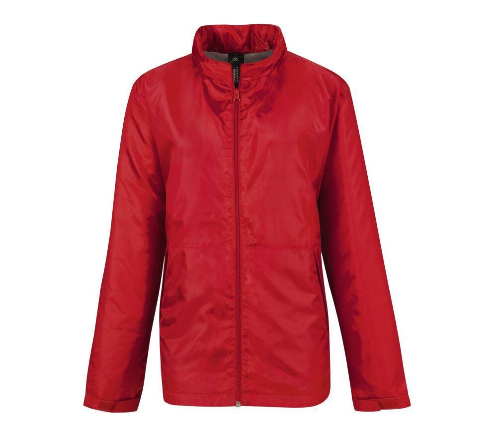 B&C BC325 - Women's microfleece lined windbreaker jacket
