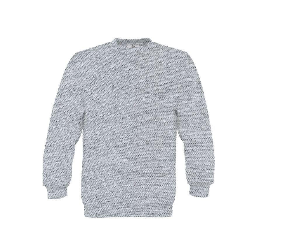 B&C BC501 - Child Sweater 80/20 Straight Sleeves 280 Pst