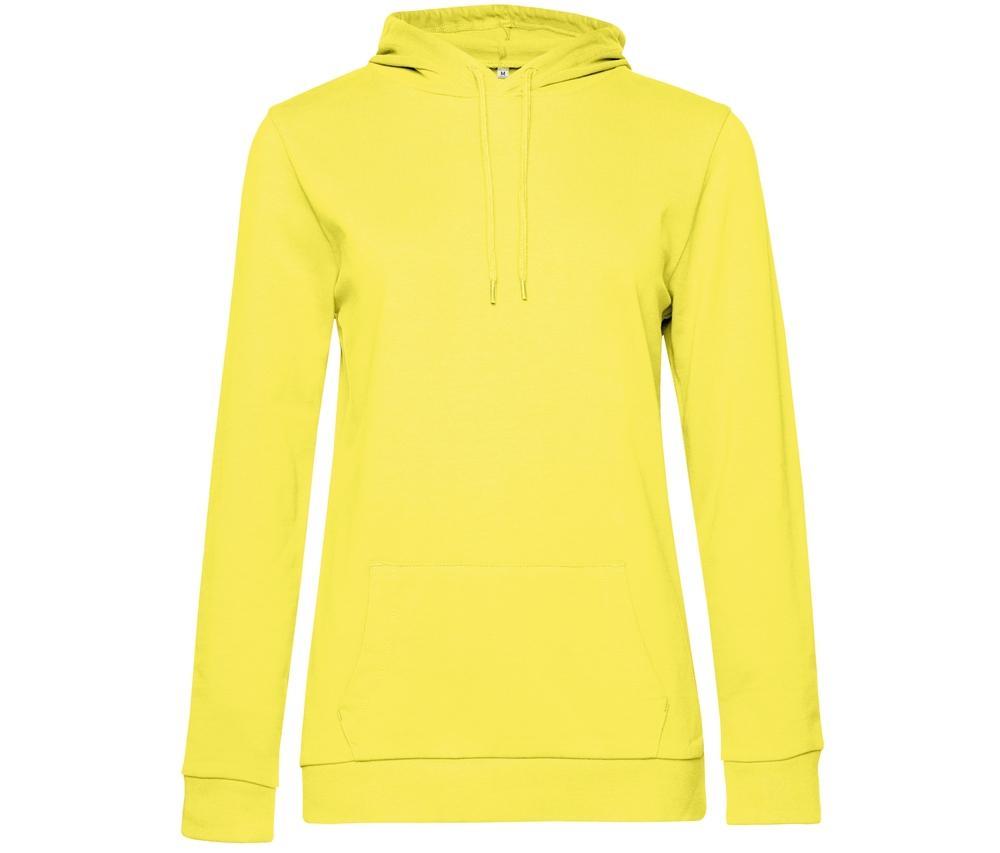 B&C BCW04W - Hooded sweatshirt # woman