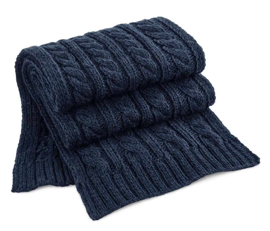 Beechfield BF499 - Twisted pattern scarf