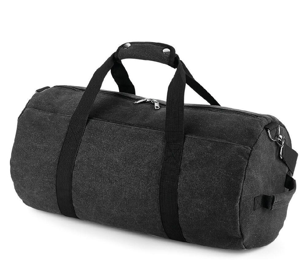 Bagbase BG655 - Vintage canvas duffel bag
