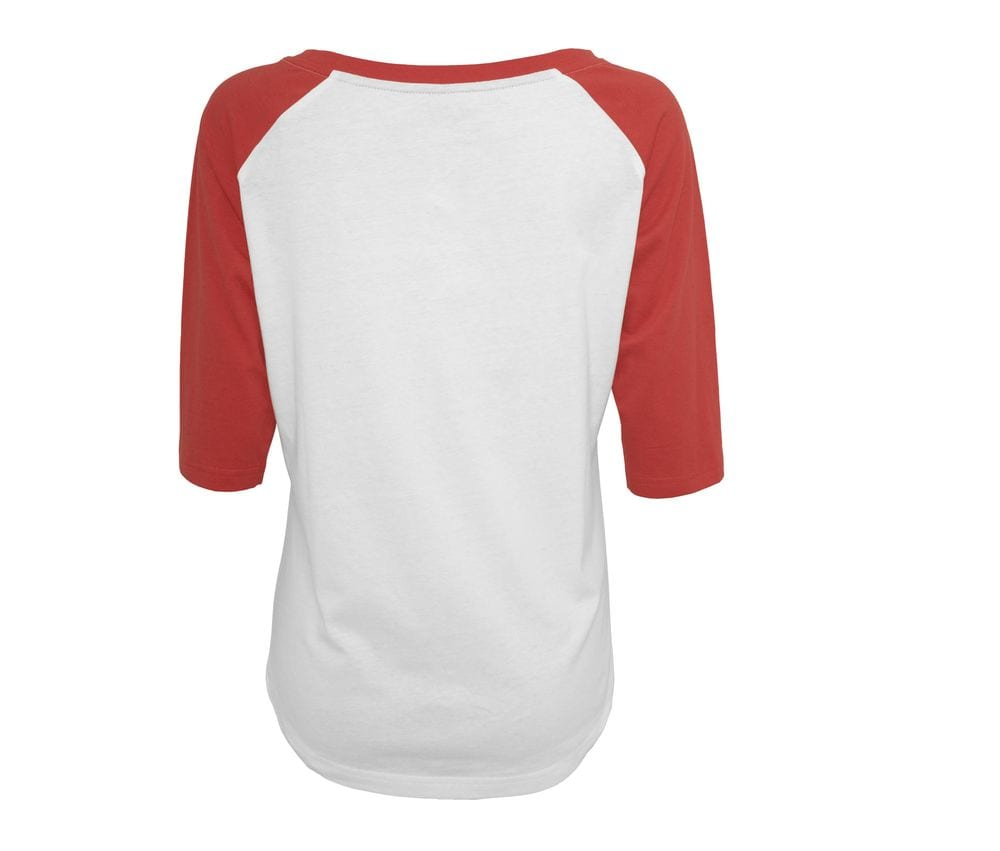 Build Your Brand BY022 - T-Shirt 3/4 sleeve baseball
