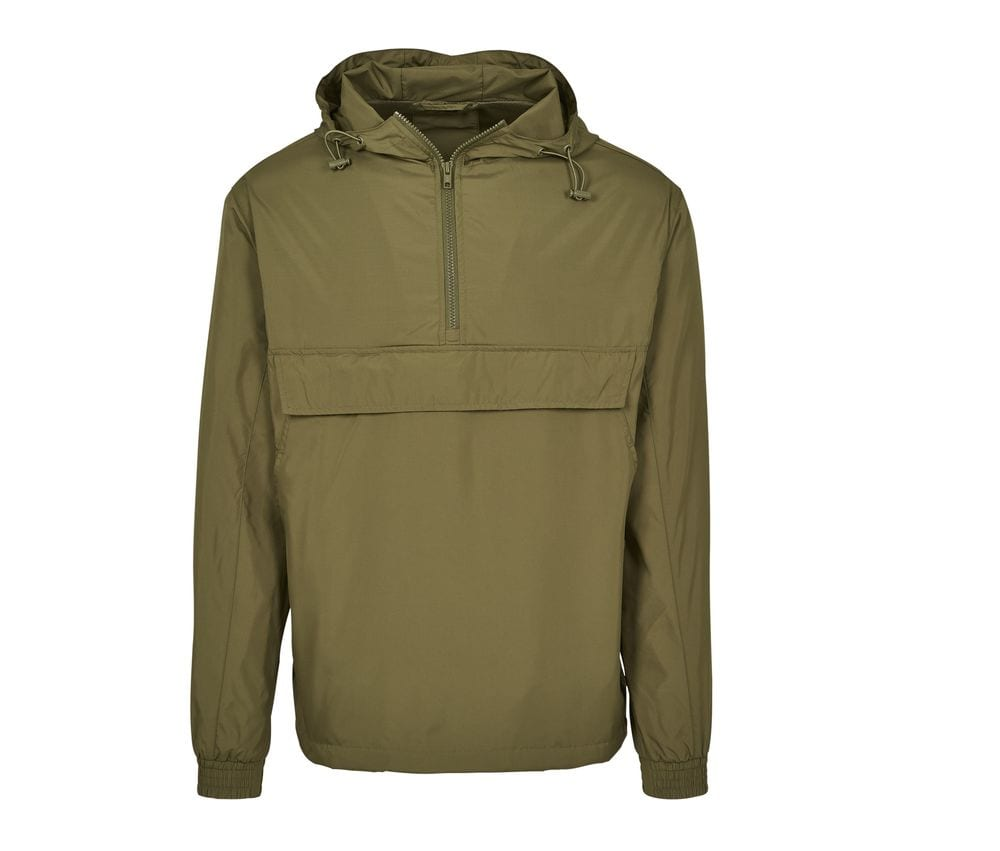 Build Your Brand BY096 - 1/4 Zip Jacket Man