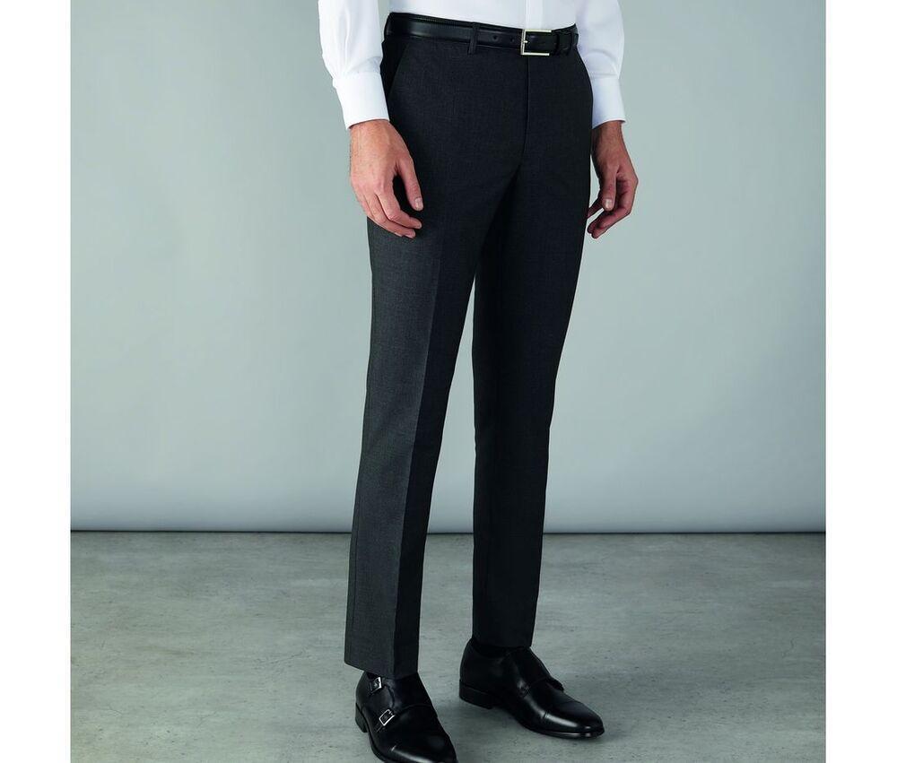 CLUBCLASS CC1003 - Edgware Men's Slim Fit Suit Pants
