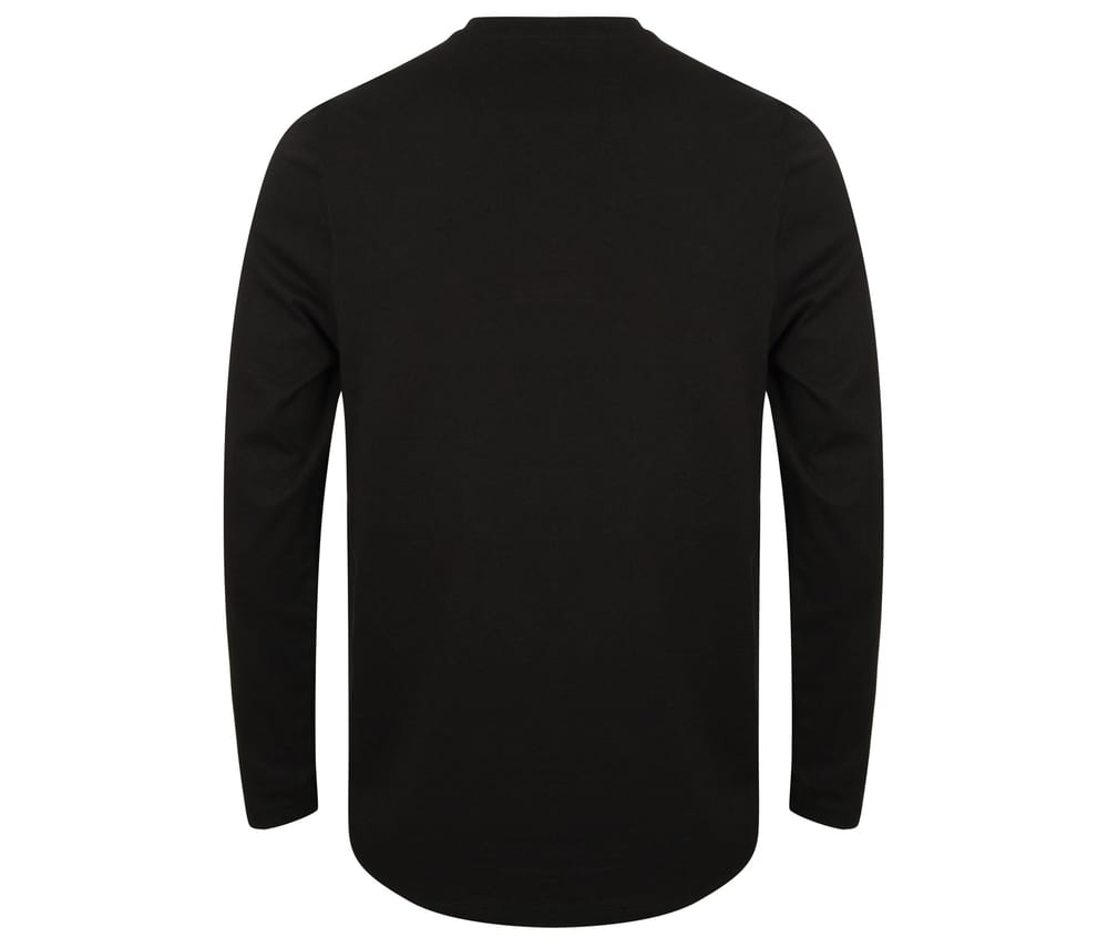 Front row FR130 - T-shirt with buttoned collar