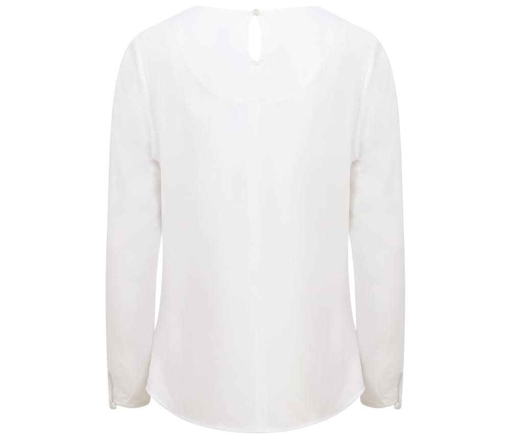 Henbury HY598 - Women's Long Sleeve Blouse