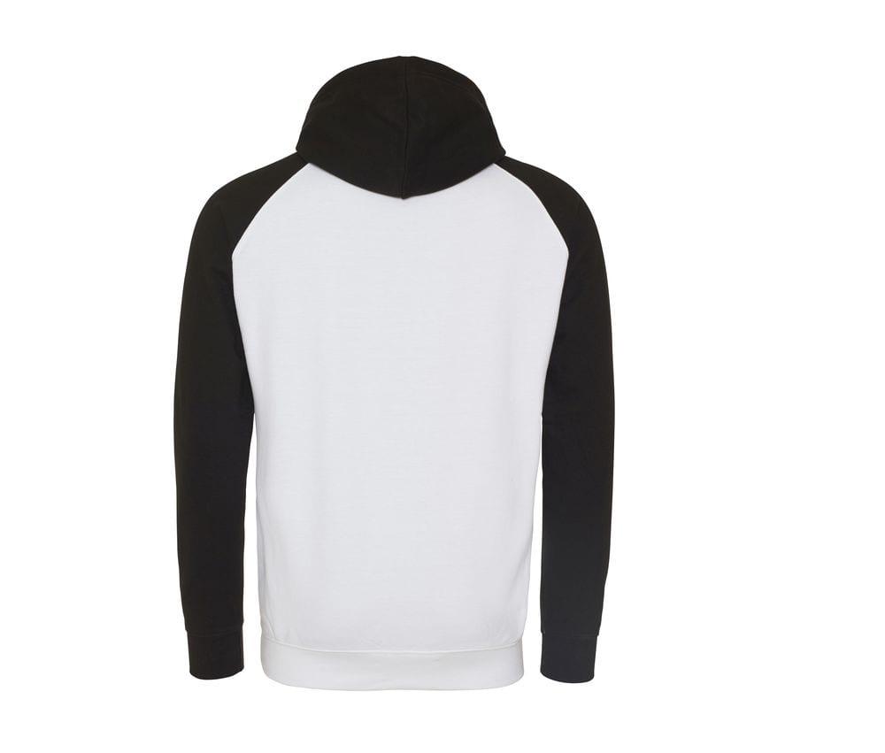 AWDIS JUST HOODS JH009 - Baseball Sweatshirt