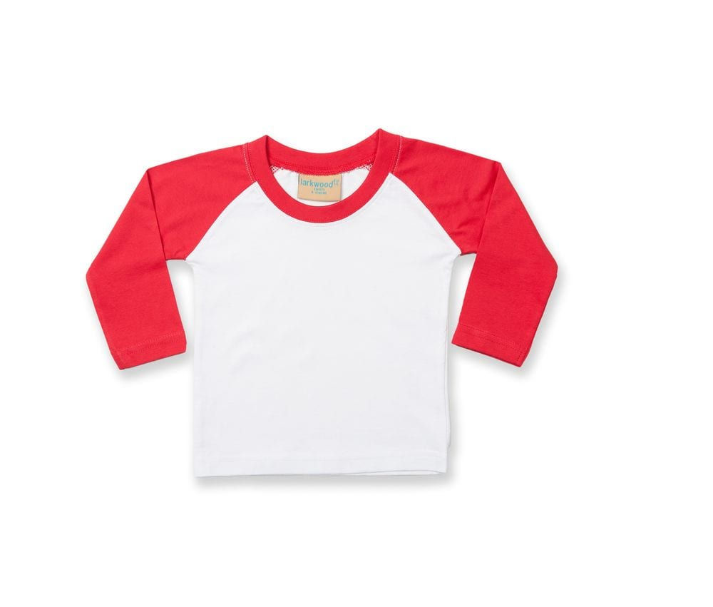 Larkwood LW025 - Long sleeved baseball T-shirt