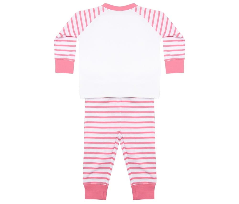Larkwood LW072 - Striped Children'S Pyjamas