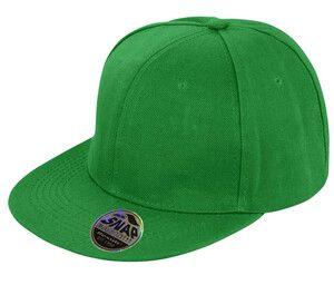 Result RC083 - Bronx Original Flat Peak Snapback Cap